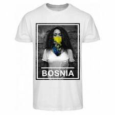 ZOONAMO T-Shirt Bosnien Urban Collection neu weiss 100% cotton Sarajevo Srpska