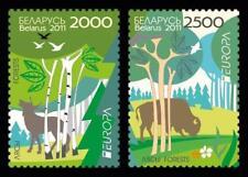 2011 Europa CEPT - Belarus - set 2v