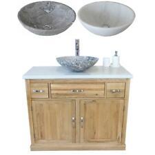 Bagno Mobiletto Armadio Rovere lavare STAND QUARZO BIANCO Marble Pietra Bacino 1161