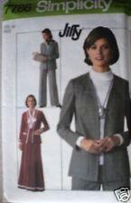 Vintage Simplicity Pattern Skirt Pants Unlined Jacket