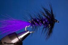 Fliegentom Streamer 3 pieces Wooley Bugger purple/black Krystal