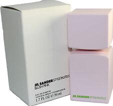 JIL SANDER STYLE PASTELS BLUSH PINK 1.7 OZ EDP SPRAY TESTER FOR WOMEN TESTER BOX