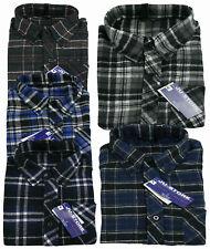 Camicia flanella uomo manica lunga tessuto invernale lavoro vintage tg da39  a46 21c5b0f30d1