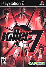 Killer7 (Sony PlayStation 2, 2005) Brand new & Sealed