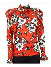 DENNY ROSE maglia donna rossa manica lunga camicia 821DD60014