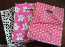18cmx17cm fashion shop cadeau plastic carrier bags 3 designs 45 sacs par pack dot