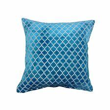 Luxury 43 x 43cm Velvet Flocked Diamond Cushion Covers - 6 Colours Versa