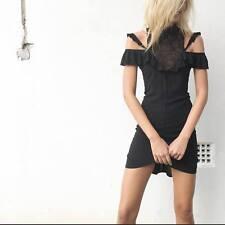 NEW THREE OF SOMETHING BLACK REEF DRESS SIZES SM TO XL