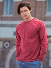 Comfort Colors - Garment Dyed Heavyweight Long Sleeve Pocket T-Shirt - 4410