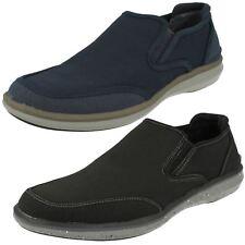 Mens Mark Nason Coated Leather/Textile Slip On Shoe Helston