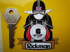 RICKMAN CAFE RACER Con Casco Cromwell A Scodella MOTOCICLETTA ADESIVO
