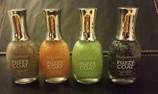 Sally Hansen Fuzzy Coat Textured Nail Color UK Free Postage