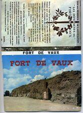 55  FORT DE VAUX   1969   bloc de 10 photos