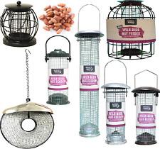 Peanut Feeder-Métal Plastique oiseaux sauvages écrou Food Hang Pet Port Perche KF Flux BP