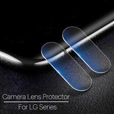 For LG G8 7 6 5 V50 40 20 Back Rear Camera Lens Screen Tempered Glass Protector