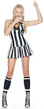 Referee Sports Costume, Leg Avenue 83035, Adult Women's 3 Piece, Size S/M, M/L