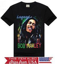 Bob Marley Legend Reggae Graphic T Shirt FAST SHIPPING!!  S M L XL 2XL