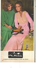 PUBLICITE 1970   LOUVA pyjama robe de chambre en ARNEL chez SPANNIER