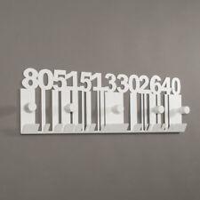 Appendiabiti da parete in ferro Codice a Barre design moderno Arti e Mestieri