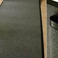 Felpudo granate Marrón Moteado 90cm Ancho Buen Precio Atrapa Suciedad alfombra