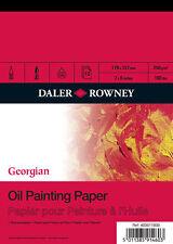 "Daler Rowney Georgian Oil Painting Pad - 12"" x 9"""