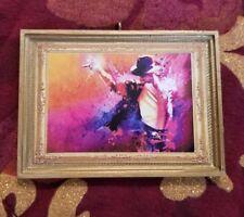 Michael Jackson Christmas Custom Handmade Ornament/Magnet/Dollhouse miniature