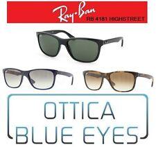 Occhiali da Sole RAYBAN HIGHSTREET RB 4181 Ray Ban POLARIZZATI Sunglasses gafas