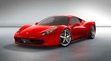 """FERRARI 458 ITALIA  24"""" x 43""""  LARGE  WALL POSTER PRINT"""