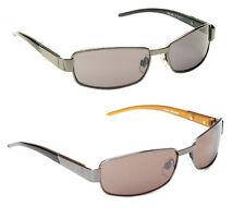 Mens Ladies Gun Metal Retro Vintage Designer Shades Classic Aviator Sunglasses