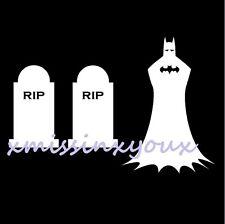 Batman Family Vinyl Decal Sticker Funny Comic Stick In Memory Joker Car Wall Kid