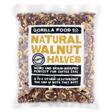 Gorilla Food Co. Natural Walnut Halves - 200g-3.2kg (Great value £ per 1kg)