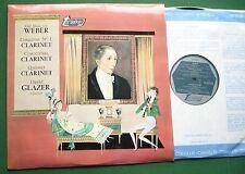 Carl Maria von Weber Clarinet Concertos David Glazer Clarinet TV34151S LP