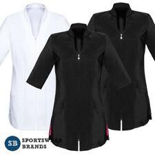 Ladies Bliss Tunic Beauty Salon Health Uniform Womens Stretch Size 6-20 H632L
