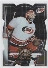 1997 Leaf Fractal Matrix Die-Cut #63 Sean Burke Carolina Hurricanes Hockey Card