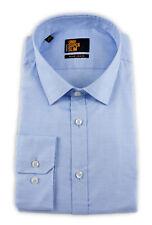 Seidensticker Herren Langarm Hemd UNO Super Slim blau strukturiert 675180.13