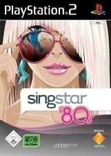 PS2 / Sony Playstation 2 Spiel - SingStar '80s (mit OVP)