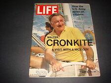Life Magazine , March 26, 1971 , Walter Cronkite , U.S. Army Spies