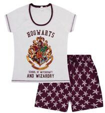 Universal Studios Harry Potter Short Ladies Women's  Adult Pyjamas Pjs