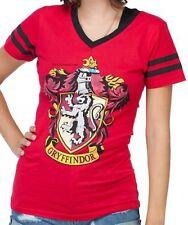Harry Potter GRIFFINDOR Fitted V-Neck Tee For Juniors Warner Brothers~ Free Ship
