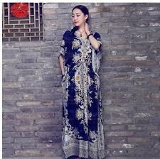 2018 HOT African Dashiki Hippie Boho Plus Size Women Caftan Kaftan Maxi Dress