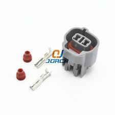2 pin automotive female waterproof connector fuel Injector plug 6189-0033