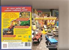 Micro Machines V4 PLAYSTATION 2 PS2 PS 2 Racing