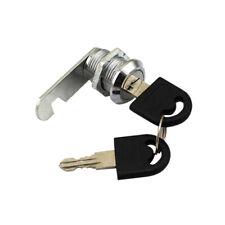 Cam Serrure Verrouillage Pr Armoire Boîte aux Lettres Tiroir Porte 16 mm+2 clés