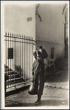 Afrika Africa Orient Orientalsicher Wasserträger Oasis Oase Wüste Postcard ~1930