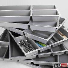 Besteckeinsatz ORGA-BOX® für 50cm Schublade Besteckkasten Schubladenteiler