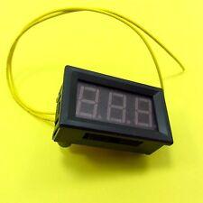 AC 12-380V LED de dos hilos Voltímetro Digital Panel Pantalla Comprobador de tensión 230V-240V
