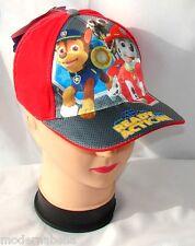Paw Patrol cappello Premium con visiera berretto Bambino Baseball 50,52 rosso/ar
