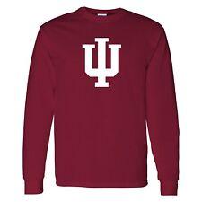 Indiana Hoosiers Primary Logo Licensed Unisex Long Sleeve T-Shirt