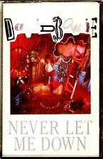 CAS - David Bowie - Never Let Me Down (POP) ORIG. SPANISH EDIT.1987, MINT,SEALED