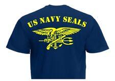 T-Shirt US Army Navy Seals Rückendruck! Anchor & Eagle USMC Marines Gr 3-5XL